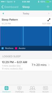 sleep pattern